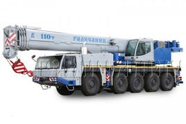 """Автокран """"Галичанин"""" КС-99713 80 т. Вседорожный кран (10х6х8)"""