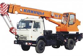 """Автокран """"Клинцы"""" КС-35719-1-02 16 т. на шасси-камаз-43253 (4х2)"""