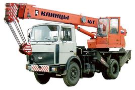 "Автокран ""Клинцы"" КС-35719-5-02 16 т. на шасси — МАЗ-5340В2 (4х2)"