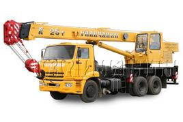 "Автокран ""Галичанин"" КС-55713-1 25 т. на базе автомобильного шасси КамАЗ-65115 (6х4)"