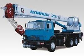 """Автокран """"Клинцы"""" КС-55713-1К-2 25 т. на шасси-КАМАЗ-65115 (6х4)"""